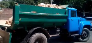 Вывоз мусора ЗИЛ